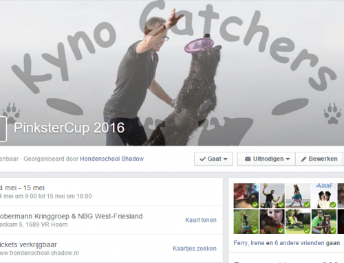 Dogfrisbee wedstrijd 14-15 mei. Kyno Catchers, Pinkster Cup inschrijving is open!!